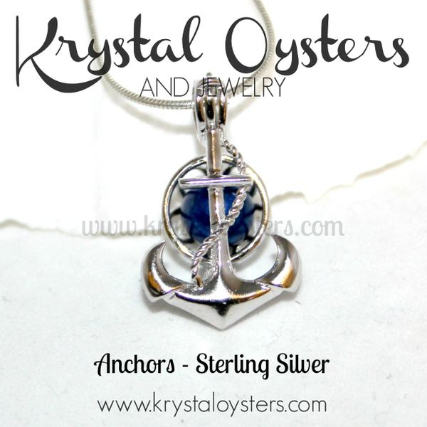 Anchors - Sterling Silver