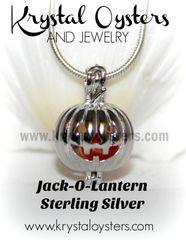Jack-O-Lantern - Sterling Silver