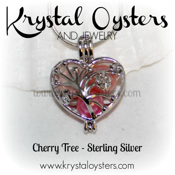 Cherry Tree - Sterling Silver