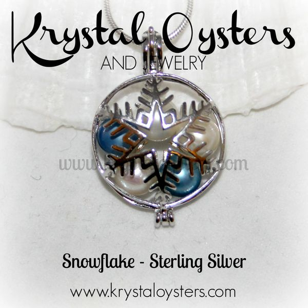 Snowflake - Sterling Silver