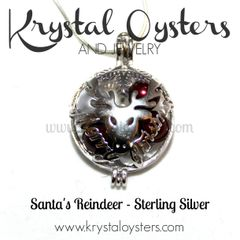 Santa's Reindeer - Sterling Silver