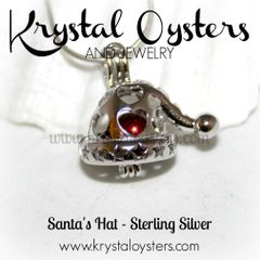 Santa's Hat - Sterling Silver