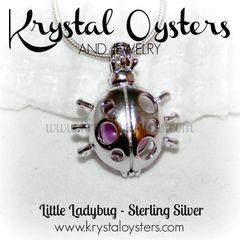 Little Ladybug - Sterling Silver