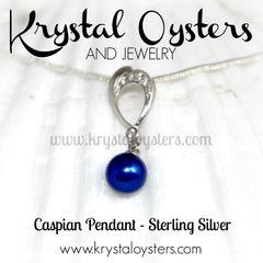 Caspian Pearl Pendant Necklace