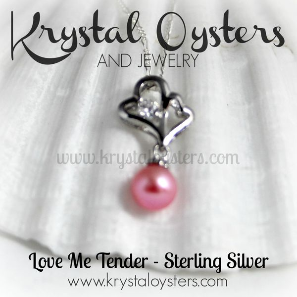 Love Me Tender Pearl Necklace