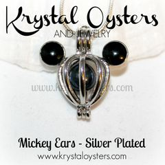 Mickey Ears - Silver Plated