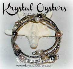 Rosemary Pearl Bracelet