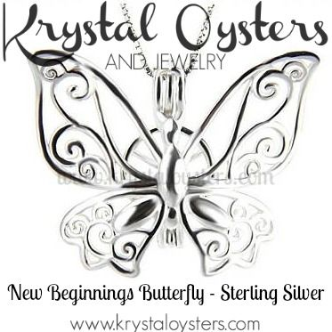 New Beginnings Butterfly Pendant