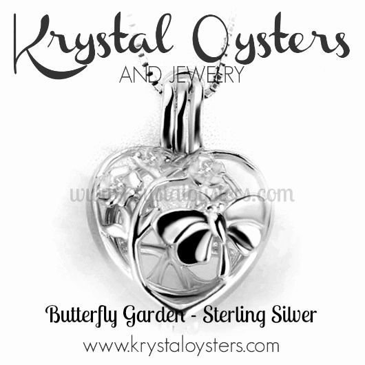 Butterfly Garden - April 2018 Pendant of the Month