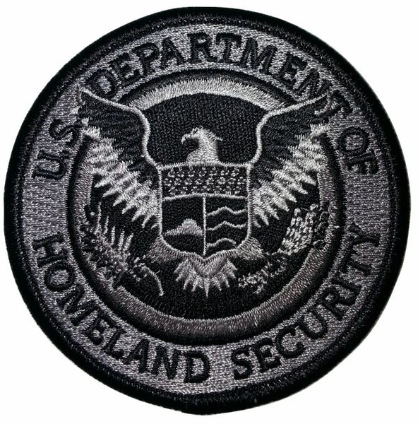 dhs black grey subdued patch fletc express dhs black grey subdued patch
