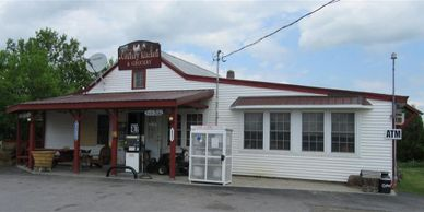 Country Cafe with 1 gas pump