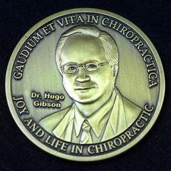 Dr. Hugo Gibson Truth In Chiropractic COIN