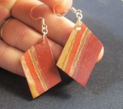 Native Pipestone Earrings Kyle South Dakota
