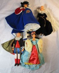 RARE PEGGY NISBET MODEL DOLLS SET OF FOUR