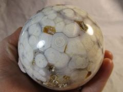 "1.8 pound Ocean Jasper Sphere 3.353"""