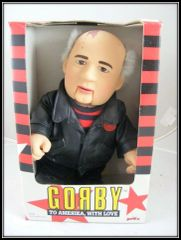 1990 VINTAGE GORBY GORBACHEV TO AMERIKA WITH LOVE DOLL AVANTI DREAMWORKS #343