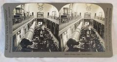 Vintage Keystone View Company Stereoview Card French Guns Paris France