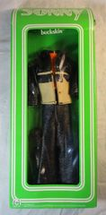 "1976 Sonny Designer Collection Clothing ""Buckskin"" Bob Mackie Mego Corp NIB"