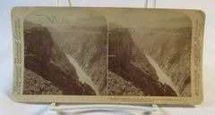 Vintage Underwood & Underwood Stereoview Card Colorado River Grand Canyon AZ