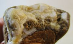 New Find Fairburn Agate from South Dakota #5855