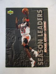 1993 UPPER DECK #166 MICHAEL JORDAN SEASON SCORING LEADER #SC17