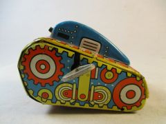 Vintage MARX # 5 Wind-Up Rollover Tin (USA) Tank #545