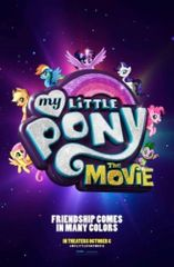 My Little Pony - original DS movie poster - 27x40 D/S Advance #T13