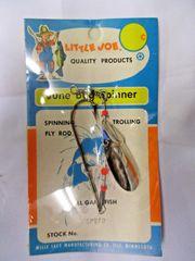 Vintage Mille Lacs Little Joe June Bug Spinner in original packaging NOS #L11