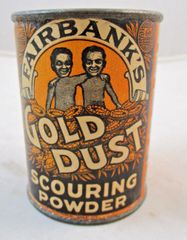 ANTIQUE UNOPENED GOLD DUST TWINS FREE SAMPLE SCOURING POWDER #13-4521