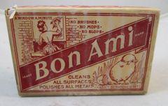 Vintage Bon Ami Cleaning Cake Polishing Bar 8 oz Unopened Original #13-002