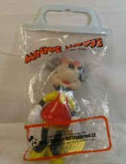 Vintage Minnie Mouse Rubber Doll Stock No. 0223-3018