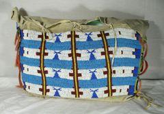 Sioux Teepee Bag Circa 1890