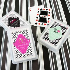 Personalised Playing Cards - Wedding Theme