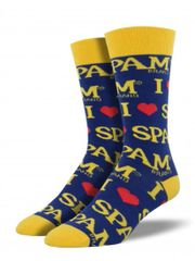 Crew Socks Mens SPAM