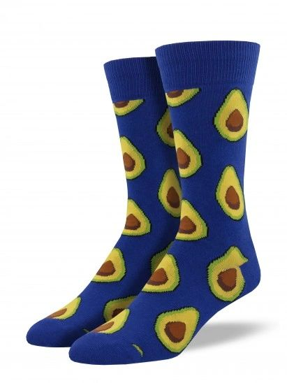 Crew Socks Mens AVOCADO