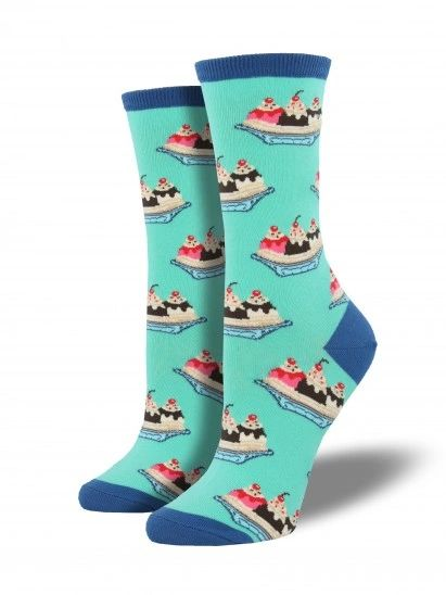 Crew Socks Women SPLIT SUNDAE