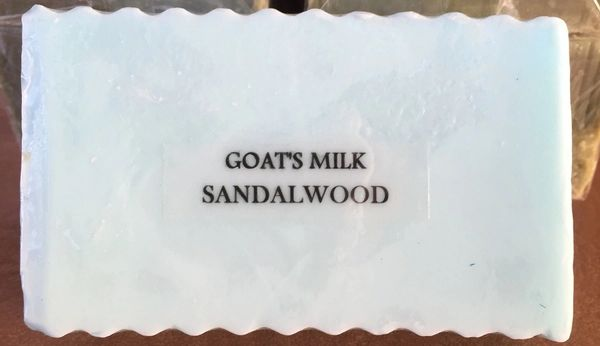 Goats Milk Sandalwood.