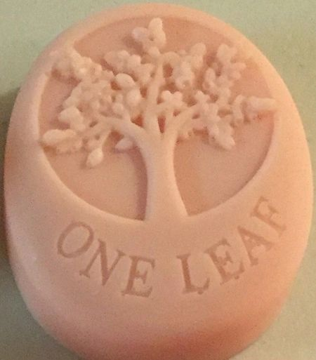 Good Luck Soap One Leaf. Goats Milk Soap.