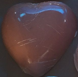 Heart Goats Milk Soap. ( Cinnamon ).