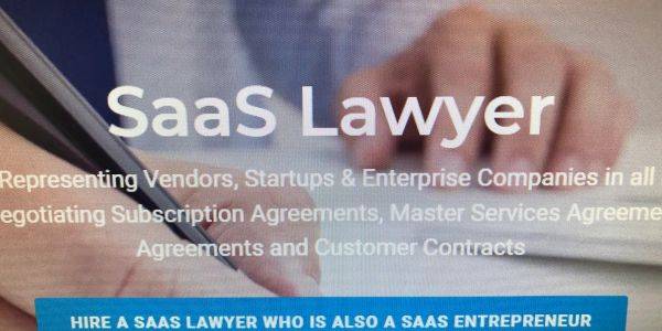 Experienced SaaS Attorney drafting and negotiating SaaS contracts and agreements and MSA Agreements.