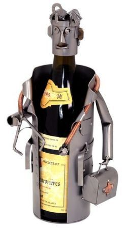 PERSONALIZED DOCTOR(MALE) WINE CADDY