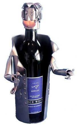 PERSONALIZED DENTIST (MALE) WINE CADDY