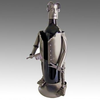 PERSONALIZED HAIR STYLIST WINE CADDY (MALE)