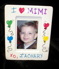 I/WE (Heart) _____ 5x7 WOODEN FRAME-PERSONALIZED