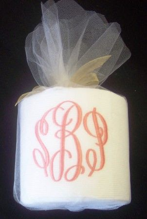 Embroidered Toilet Paper