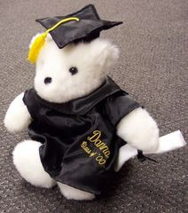 Graduation Bear-Embroidered