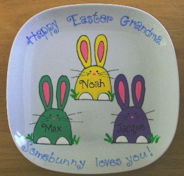SP-H.P. Some Bunny Loves You Platter