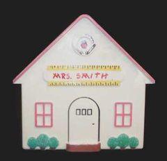 Teacher Lg. Acrylic House-Handpainted