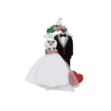 Wedding Gown/Tuxedo Personalized Ornament