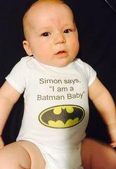 Batman Personalized Onesie